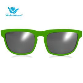 Bruno(ブルーノ)グリーン(レンズシルバー、つるグリーン)Shaka's Hawaii Sunglasses(シャカサングラス)