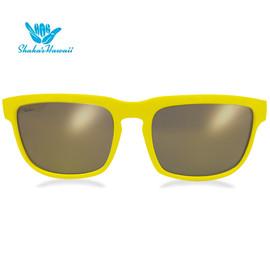 Bruno(ブルーノ)イエロー(レンズゴールド、つるイエロー)Shaka's Hawaii Sunglasses(シャカサングラス)