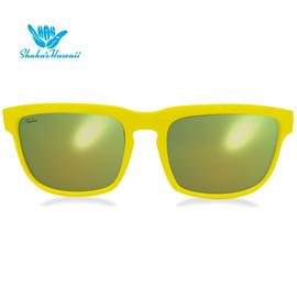 Bruno(ブルーノ)イエロー(レンズイエロー、つるイエロー)Shaka's Hawaii Sunglasses(シャカサングラス)